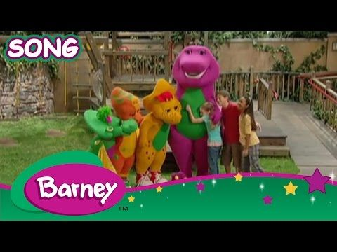 Barney - What it Means to be a Friend (SONG) - YouTube