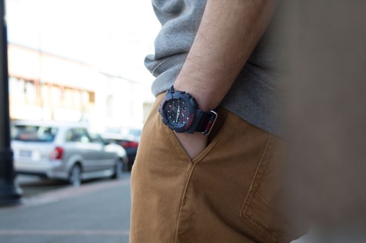Men's accessories - G-Shock watch from #premiumlabel - http://www.premiumlabel.ca/outlet/news/spring-style-guide