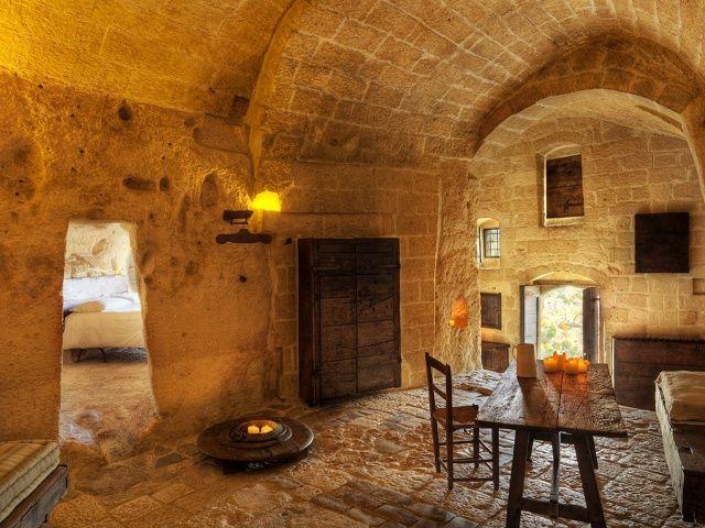 Отель в пещере Le Grotte della Civita