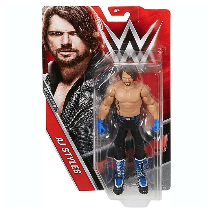 John Cena Mattel WWE 2015 Basic Series Red Action Figure Raw New in Box
