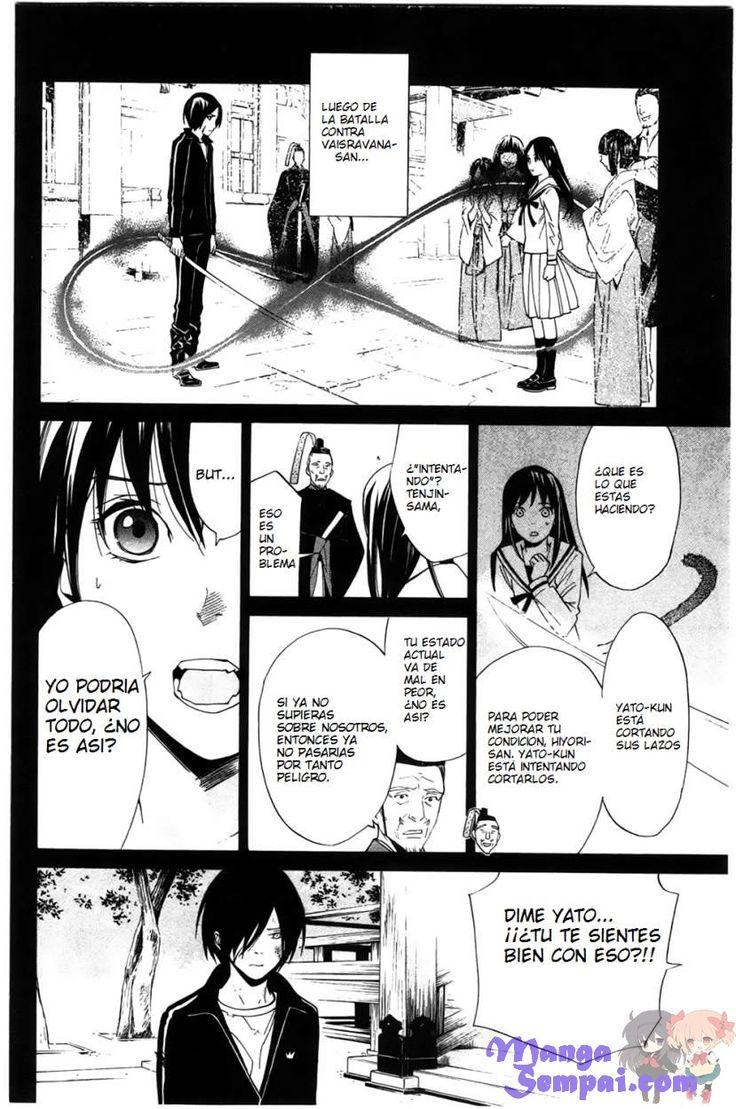 Ver Noragami 24 Manga Online - Manga Sempai