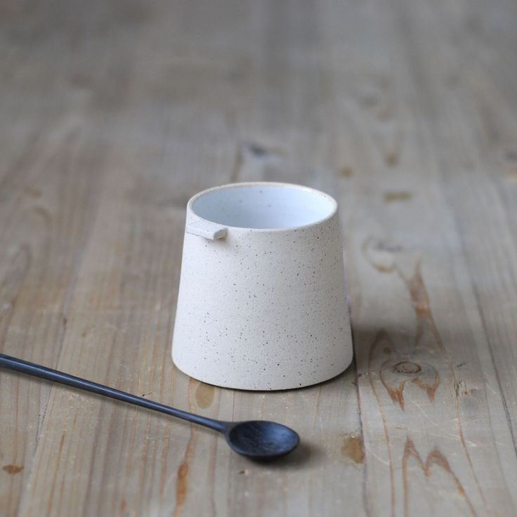 Coffee cup in textured stone