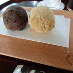 廚菓子くろぎ - 料理写真:あんころもち 小豆ときなこ