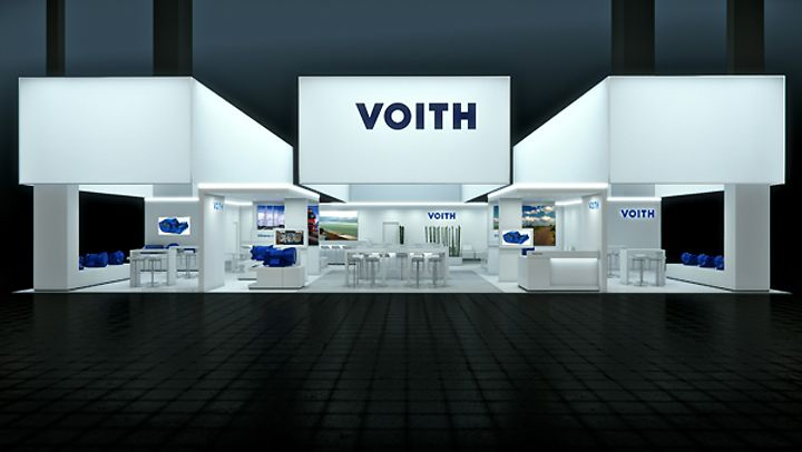 D Printer Exhibition Germany : Voith booth by björn radler at iaa frankfurt germany