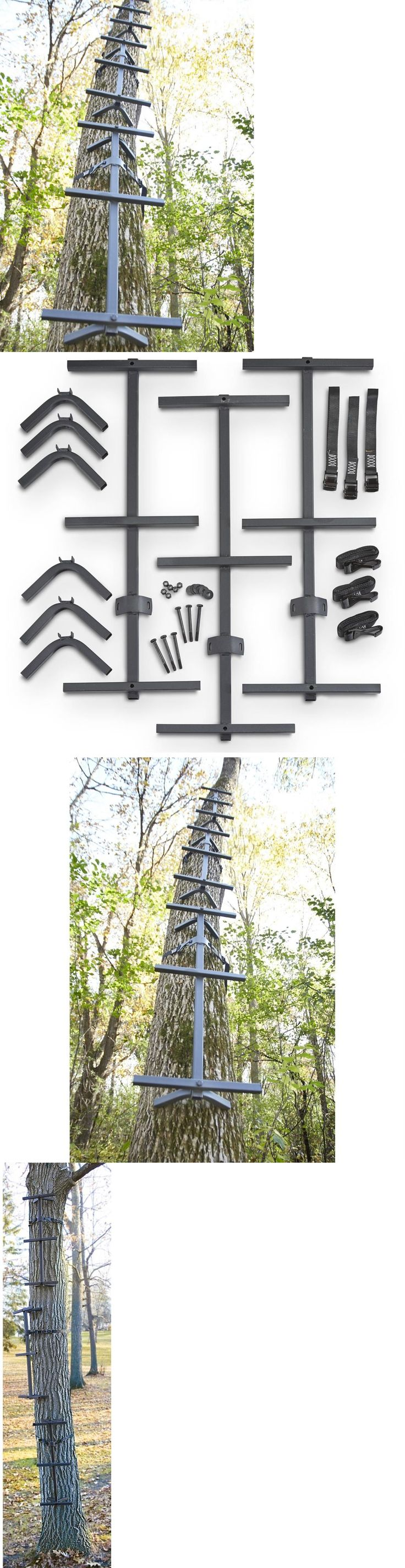 Blind and Tree Stand Accessories 177912: 3 Pk Hunting Climbing Ladder Sticks Tree Stand Attachment Bow Deer Game Hunters BUY IT NOW ONLY: $47.59