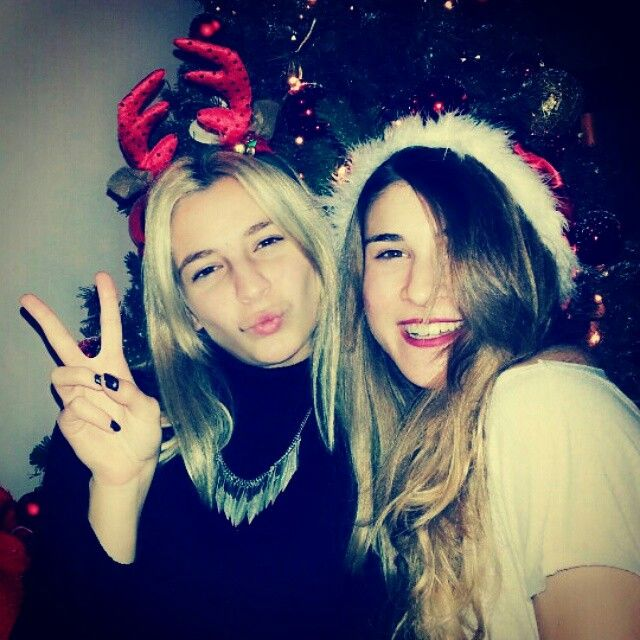 Me and my best friend! Christmas is on the corner ☆