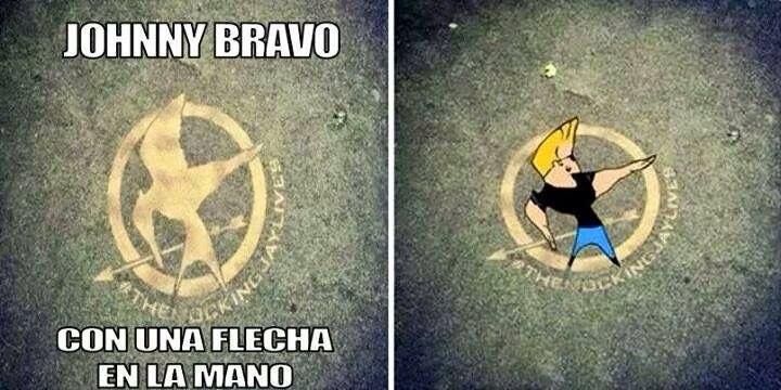 Johnny bravo The Hunger Games | Stuff | Johnny bravo ...