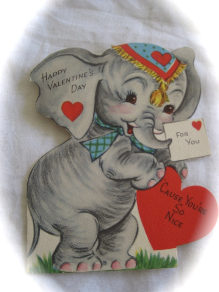 111 best images about Elephant Valentines – Elephant Valentines Card