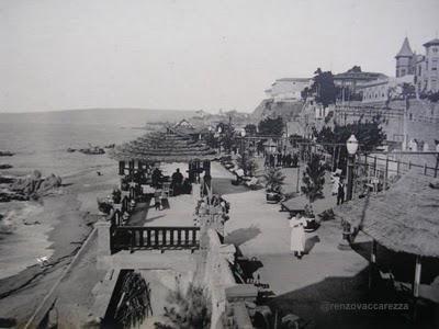 """""""Patio Andaluz"""" de #Viña, en 1928 funciona el 1º Casino, bajo la ad de don Joaquín Escudero, padre de Marta Escudero."""