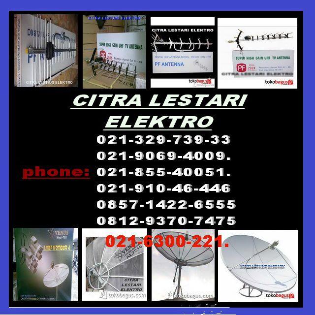 jasa-ahli pasang antena tv, parabola otomatis venus dan camera cctv