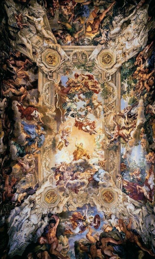 Maciebby In 2019 Baroque Art Ceiling Art