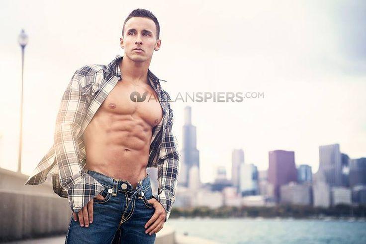 Jorge Guevara | Allan Spiers | #muscle #model #truereligionbrandjeans