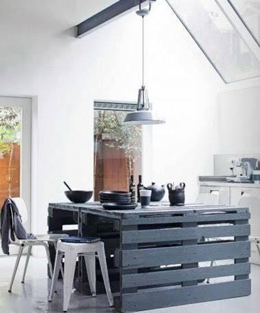 Les Meilleures Idées De La Catégorie Îlot De Cuisine Palette - Meuble de cuisine ilot central pour idees de deco de cuisine