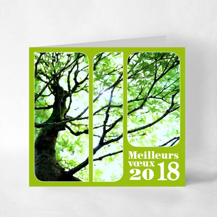 Les 53 meilleures images du tableau cartes de voeux 2018 collection classique sur pinterest - L arbre a souhait ...