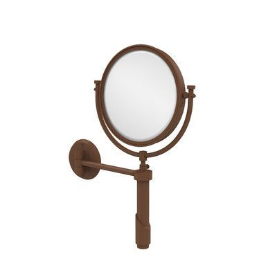 Allied Brass Universal Extendable Mirror Magnification: 3x, Finish: Antique Bronze