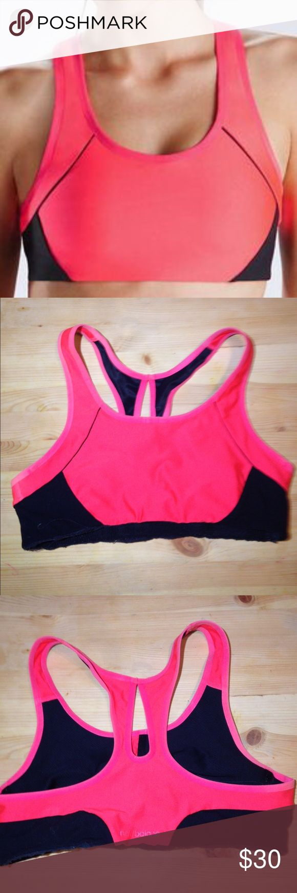 ❤️36B Full Support New Balance Sports Bra ❤️❤️🎈Coral and Black Color• Full Support• Open Racer Back• Brand: New Balance• Size: 36 B cup• comfortable• pet smoke stain free• New Balance Intimates & Sleepwear Bras
