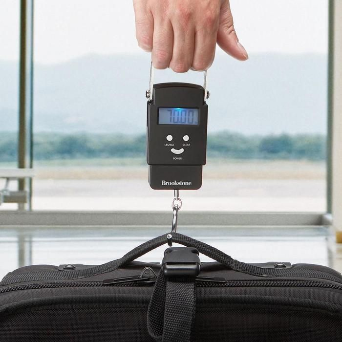 Digital Luggage Scale lets you weigh and measure your bags before departure to avoid check-in issue.  heeheeheehee!!!: Travel Gifts, Travel Products, Luggage Weigher, Digital Luggage, Awesome Gadgets, Travel Stuff, Gifts Idea, Awesome Digital, Luggage Scale