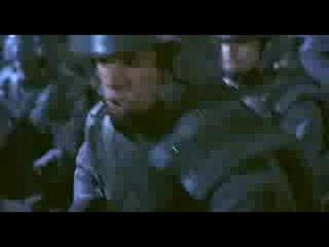 """Starship Troopers - Movie Trailer - 1997 In the future, Earth has become a spacefaring Federation. While colonizing new planets, humans have encountered an insectoid species known as the Arachnids or """"Bugs"""", with their home being the distant world Klendathu. The bugs appear to be little more than killing machines, though there are suggestions that they were provoked by the intrusion of humans into their habitats."""