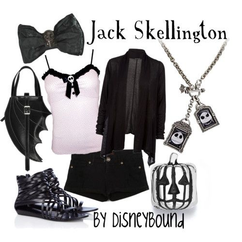 Disney Bound Outfits | Disneybound Outfits / Jack Skellington by disneybound.