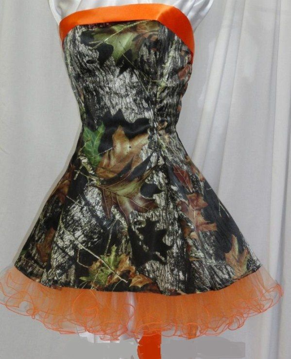 25 Best Ideas About Camo Prom Dresses On Pinterest