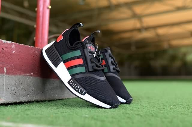 cheap for discount 6a9a4 ed6fa Cheap Adidas NMD R1 Kid 2018 shoes Gucci black Only Price ...