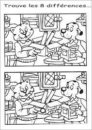 """7 différences à imprimer"""""""