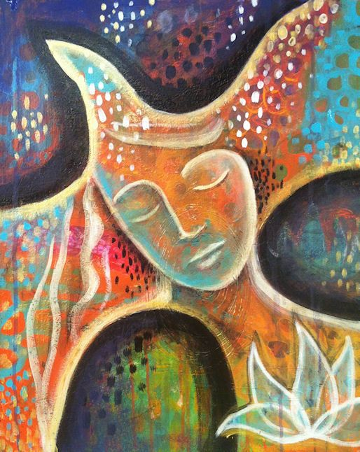 """""""Into The Dreamtime"""" By Amanda Joy Wells. Intuitive"""