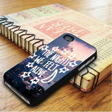 All Time Low City Night Music Qoutes iPhone 5|iPhone 5S Case