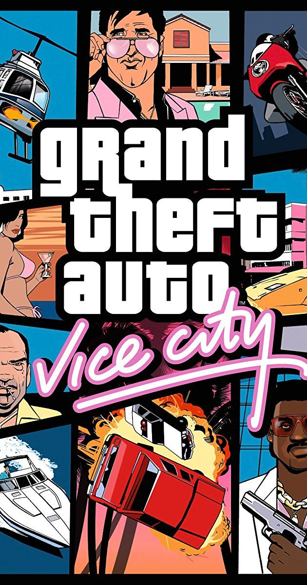 Grand Theft Auto Vice City 2002 With Ray Liotta William Fichtner