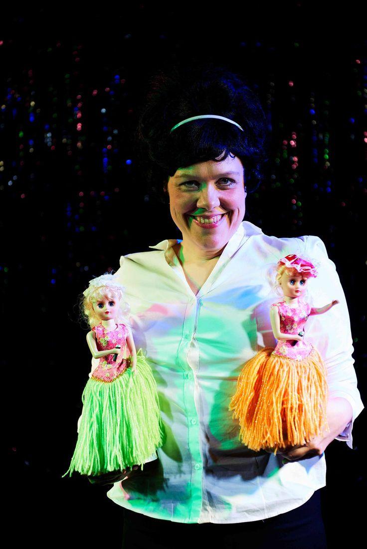 Marie Mondrup. Skuespiller i gæste-forestillingen UDSPRING på Teatret ved Sorte Hest 2016  Fotograf Robin Skjoldborg