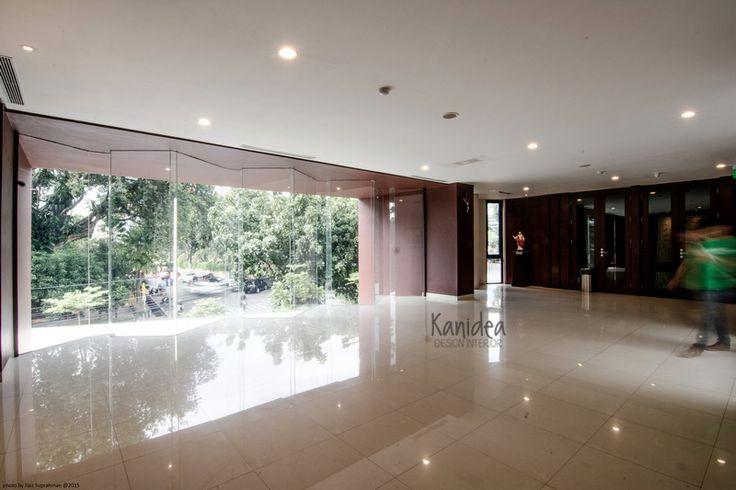 lobby upper #glass #modern #interior design