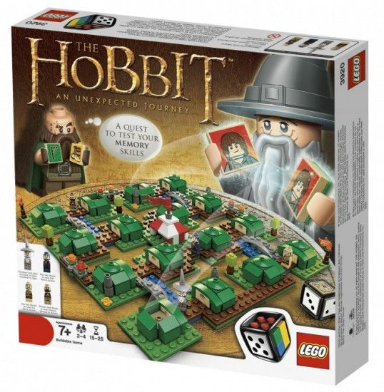 This is a Lego Hobbit board game.