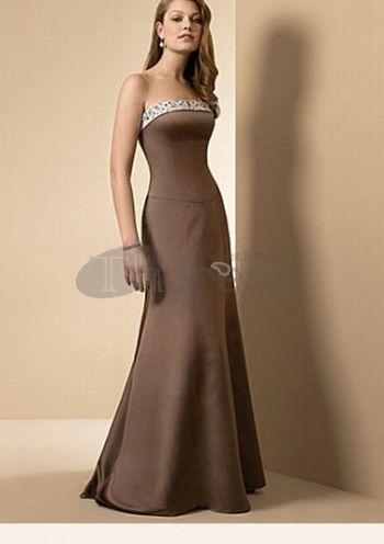 brunes robes de demoiselle