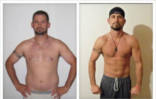 Lean Muscle Body Before And After Chris before and after...