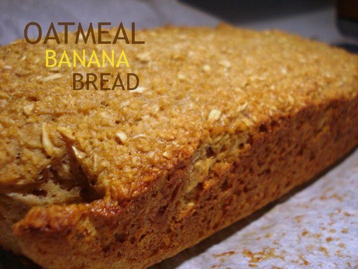 Oatmeal Banana Bread | food & recipes | Pinterest