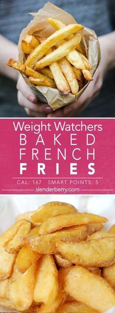 Weight Watchers Baked French Fries Recipe - 5 Smart Points 167 Calories
