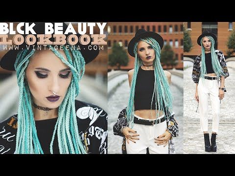 BLCK BEAUTY || LOOKBOOK by VINTAGEENA - YouTube