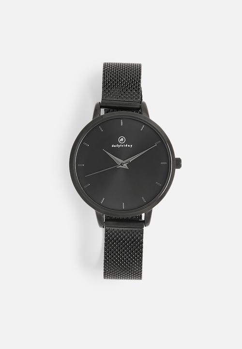 Nicole mesh watch-black dailyfriday Watches | Superbalist.com