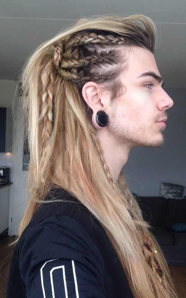 21 Sexiest Long Hairstyles For Men To Rock In 2020 Long Hair Styles Men Viking Hair Hair Styles