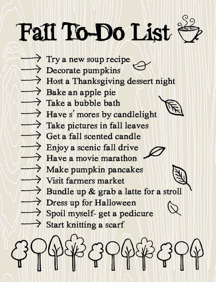 Fall To Do List Making Time For The Important Things Lemon Thistle Happy Fall Fall Fun Happy Fall Y All