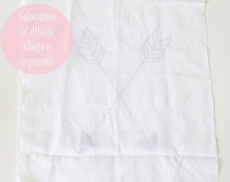 banderín de flechas cruzadas. Crossed arrow diy tutorial