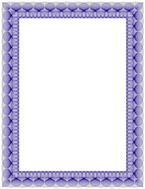 Bordes Decorativos: Bordes decorativos de diplomas para imprimir                                                                                                                                                                                 Más