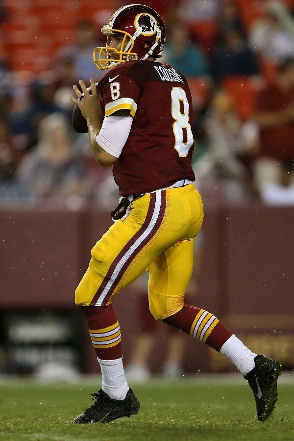 Kirk Cousin is my family's favorite football player.                                                                                                                                                     More
