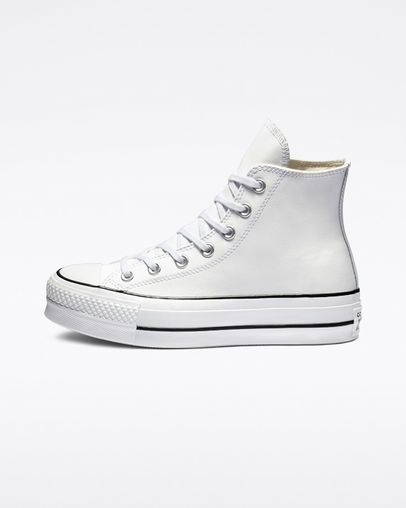 5bafd4a8a2e Chuck Taylor All Star Lift Clean Leather High Top in 2019 | Clothes ...