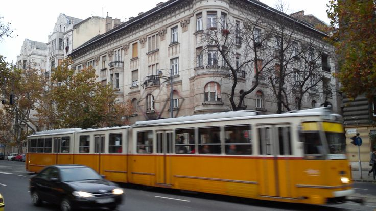 #Tram No.41 at Bartók Béla Street in #Budapest #Hungary