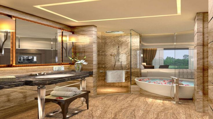 Bathroom at the Kempinski Ambience DelhiHotels Delhi, Ambience Hotels, Viceroy Hotels, Hotels Bathroom, Hotels Suits, Luxury Hotels