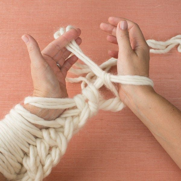 Anne Weil teaching at Vogue Knitting Live