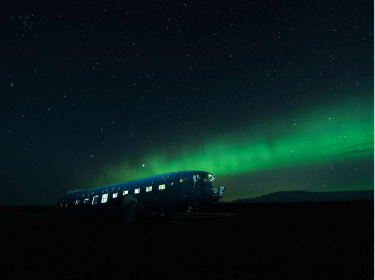 Esprits nocturnes - Douglas DC-3, Islande - David de Rueda