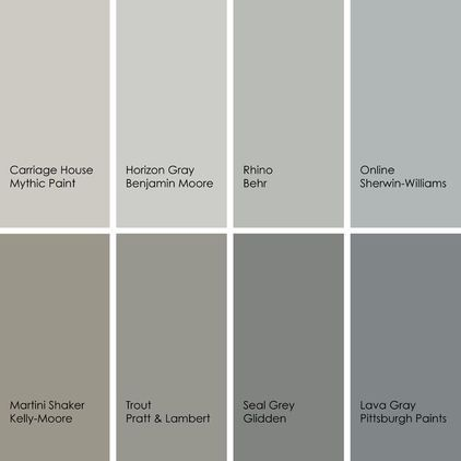best grays for the kitchen