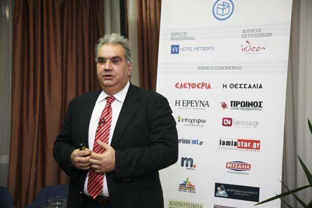 Δημήτρης Καραβασίλης, εντεταλμένος Σύμβουλος και μέλος της Διοικητικής Επιτροπής του Συνδέσμου Εξαγωγέων Βορείου Ελλάδος